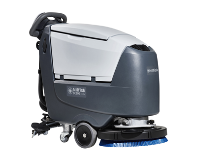Product, Floor cleaning, Scrubber dryers, Walk-behind scrubber and dryers, Medium walk-behind scrubber and dryers, Nilfisk, SCRUBBER SC500 53 B FULL PKG