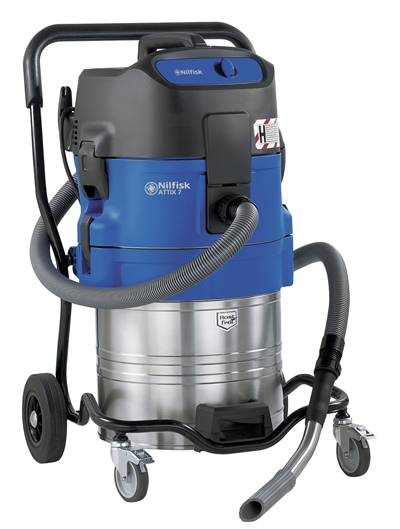 Product, Vacuum cleaners, Industrial vacuum cleaners, Health and safety wet & dry, Nilfisk, ATTIX 751-0H 230/1/50 EU