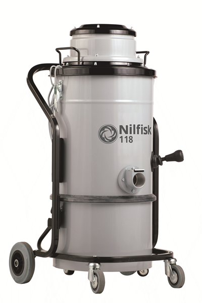 Product, Vacuum cleaners, Industrial vacuum cleaners, Single-phase wet & dry, Nilfisk, 118 AU