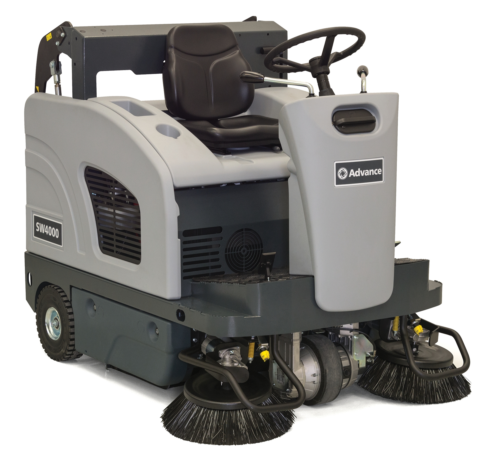 Product, Floor cleaning, Sweepers, Ride-on sweepers, Nilfisk, SW4000 310 AH W/BATT PKG