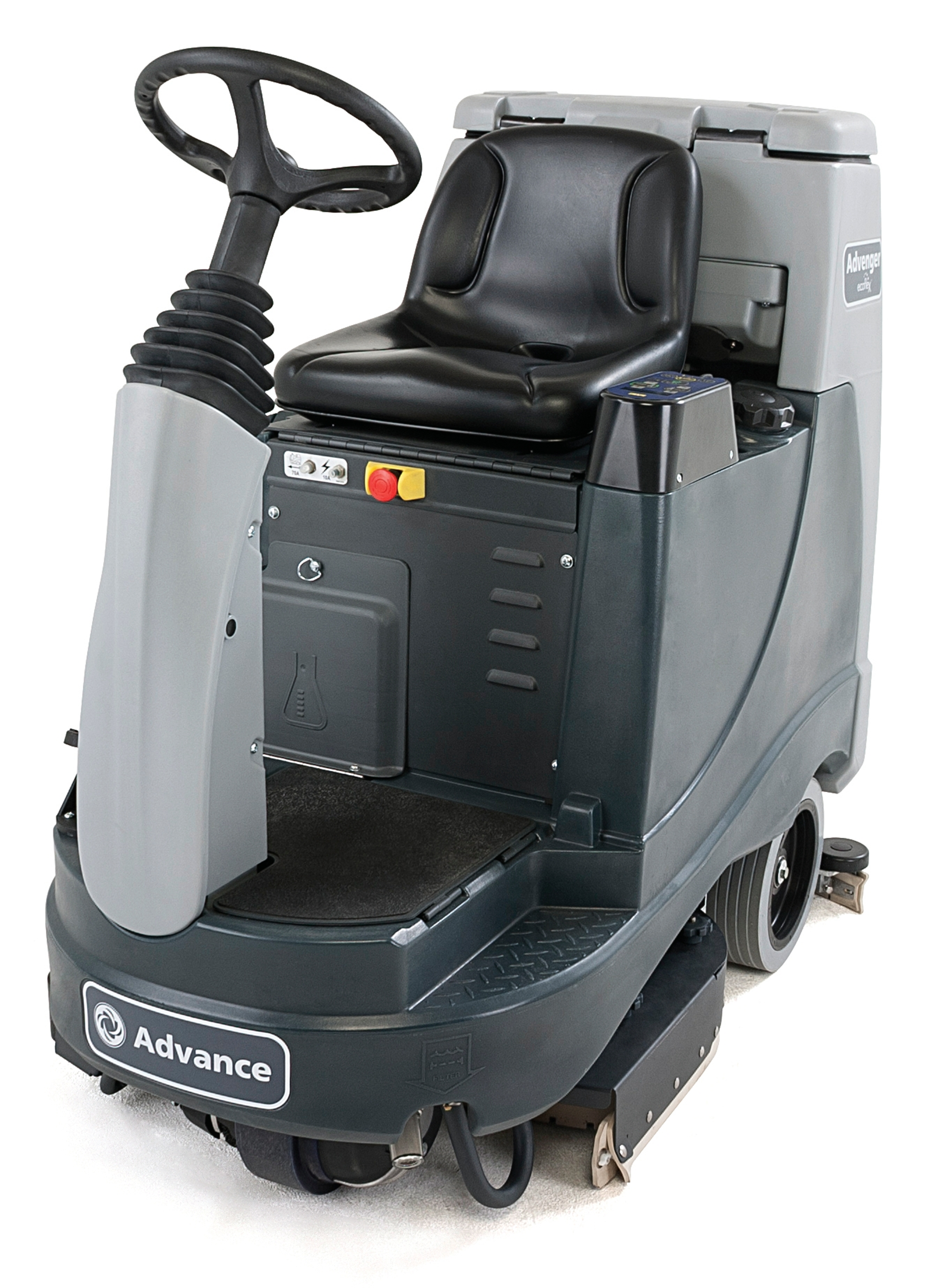 Product, Floor cleaning, Scrubber dryers, Stand-on and ride-on scrubber dryers, Nilfisk, ADVENGER X2805R 420 SC