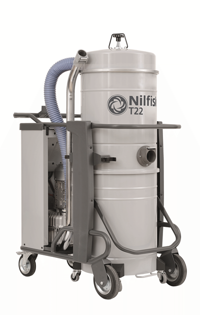 Product, Vacuum cleaners, Industrial vacuum cleaners, Three-phase wet & dry, Nilfisk, T22 L100