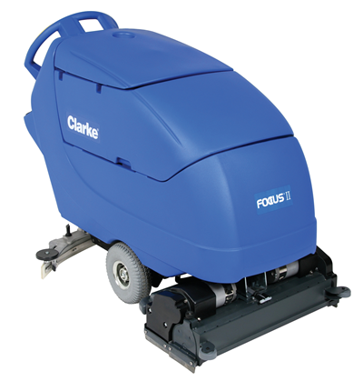 Product, Floor Cleaning, Scrubbers, Walk-behind Scrubbers, Large, Nilfisk, FOCUS II CYL28 242AH