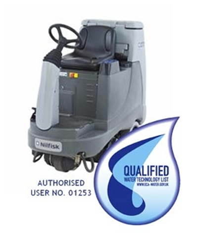 Product, Floor cleaning, Scrubber dryers, Stand-on/ride-on scrubber/dryers, Nilfisk, NILFISK BR755C