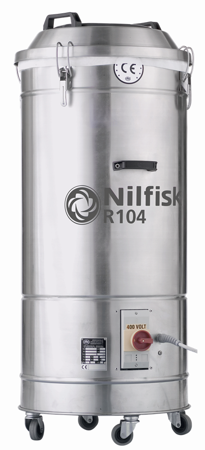 Product, Vacuum cleaners, Industrial vacuum cleaners, Packaging and trims, Nilfisk, R104 V