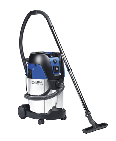 Product, Vacuum cleaners, Industrial vacuum cleaners, Single-phase wet & dry, Nilfisk, AERO 31-21 PC INOX 230V/50-60HZ CH