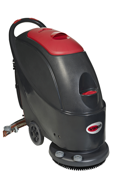 Product, Floor cleaning, Scrubber dryers, Walk-behind scrubber and dryers, Medium walk-behind scrubber and dryers, Nilfisk, AS430B 17INCH SCRUBBER 24V