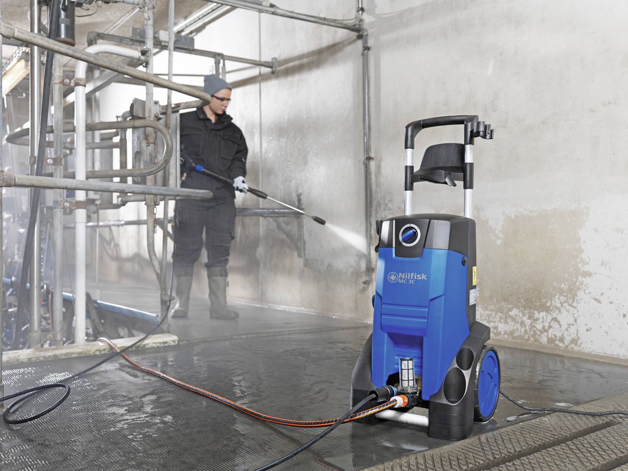 Product, Pressure washers, Mobile pressure washers, Mobile cold water pressure washers, Compact, Nilfisk, MC 3C-150/660 XT 230/1/50/16 EU