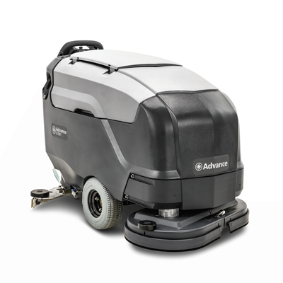 Product, Floor cleaning, Scrubber dryers, Walk-behind scrubber and dryers, Large walk-behind scrubber and dryers, Nilfisk, SC901 34D A255 OBC MGB