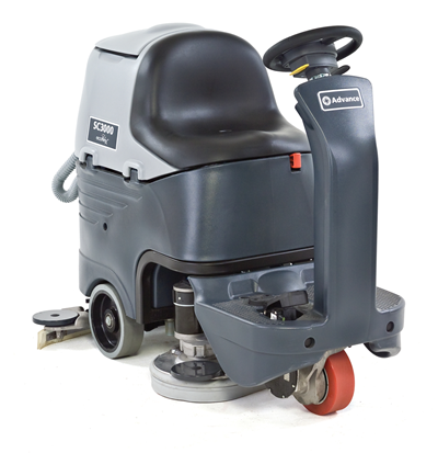 Product, Floor cleaning, Scrubber dryers, Stand-on and ride-on scrubber dryers, Nilfisk, SC3000 26D ECOFLEX A255 OBC PH