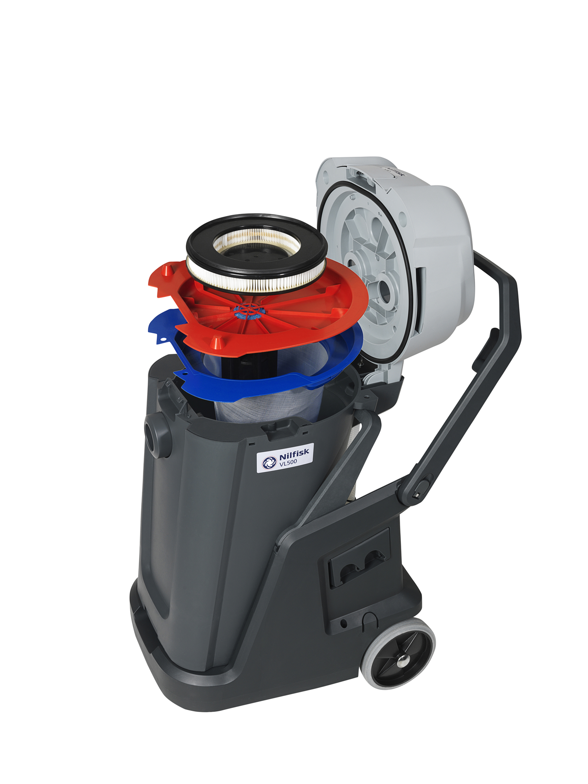 Product, Vacuum cleaners, Commercial vacuum cleaners, Wet and dry vacuum  cleaners, Nilfisk, VL500 75-2 EDF 220-240V/50 UK