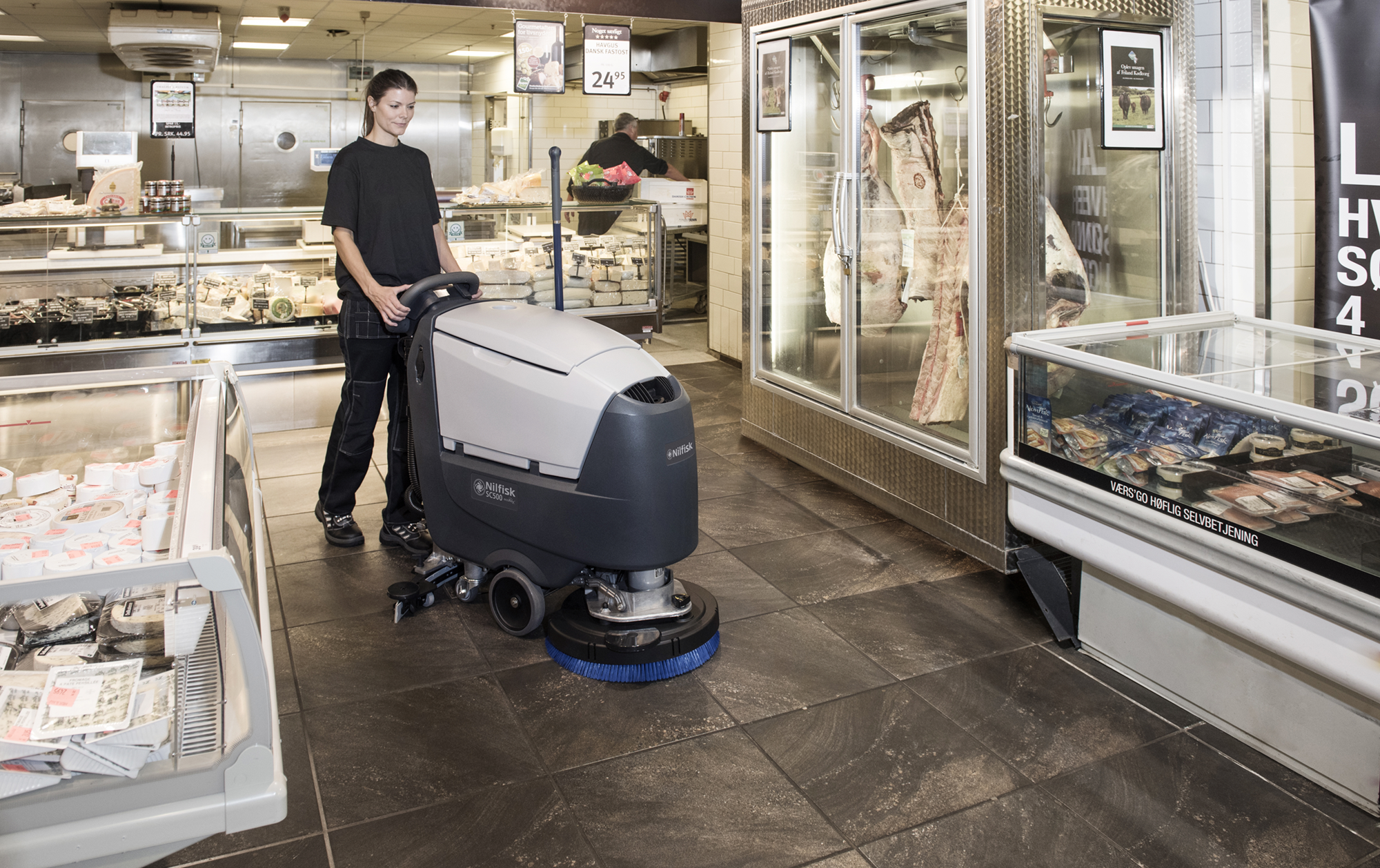Product, Floor cleaning, Scrubber dryers, Walk-behind scrubber dryers, Medium walk-behind scrubber dryers, Nilfisk, SCRUBBER SC500 53R B