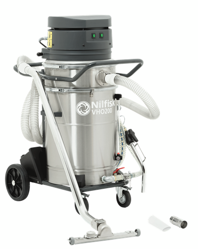 Product, Vacuum cleaners, Industrial vacuum cleaners, Oil and shavings, Nilfisk, VHO200CB X
