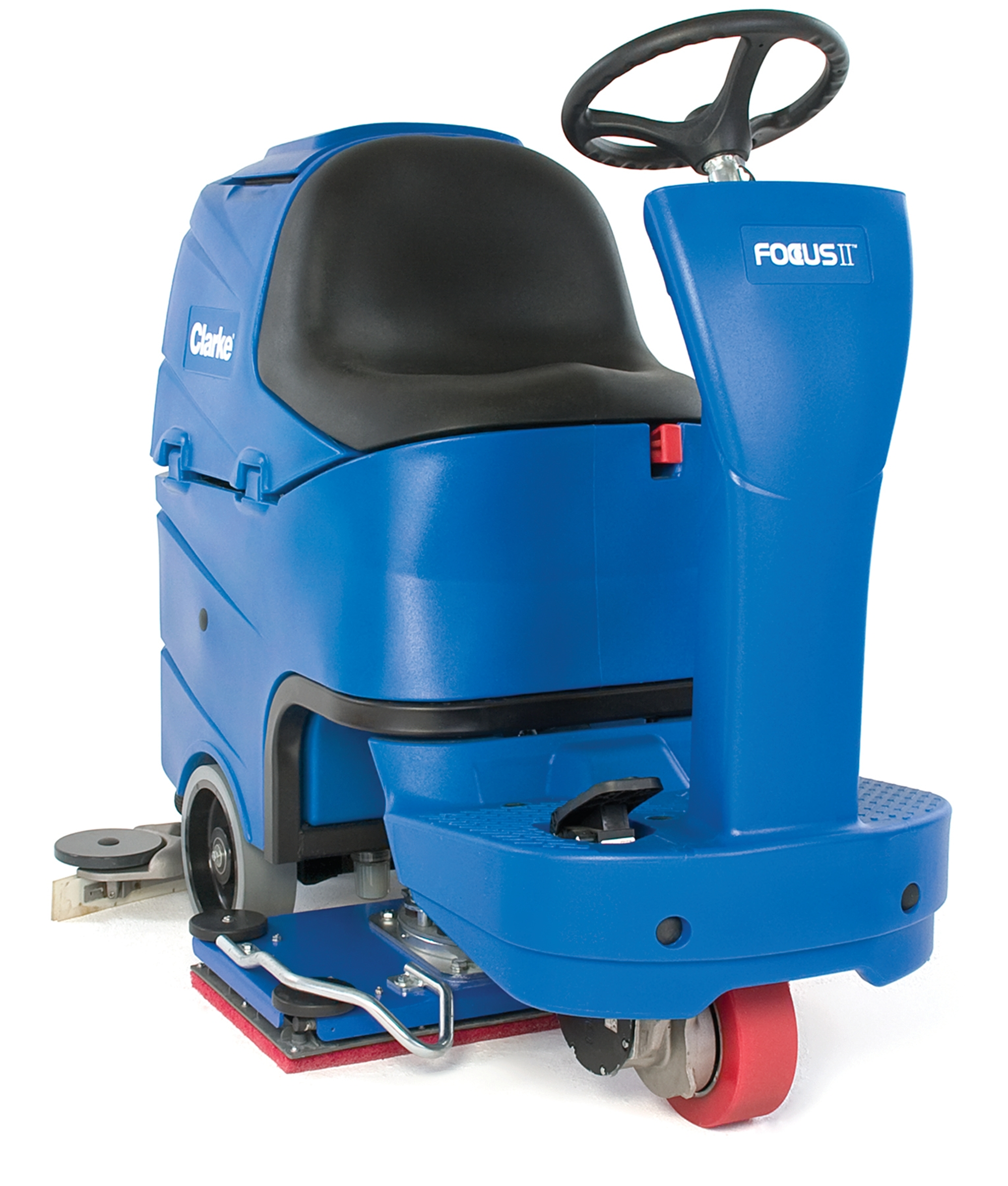 Product, Floor Cleaning, Scrubbers, Rider Scrubbers, Nilfisk, FOCUS II MRIDER 28B CHEM A255