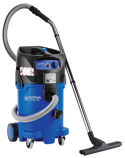 Product, Carpet Cleaning, Industrial vacuum cleaners, Single-phase wet & dry, Nilfisk, ATTIX 50