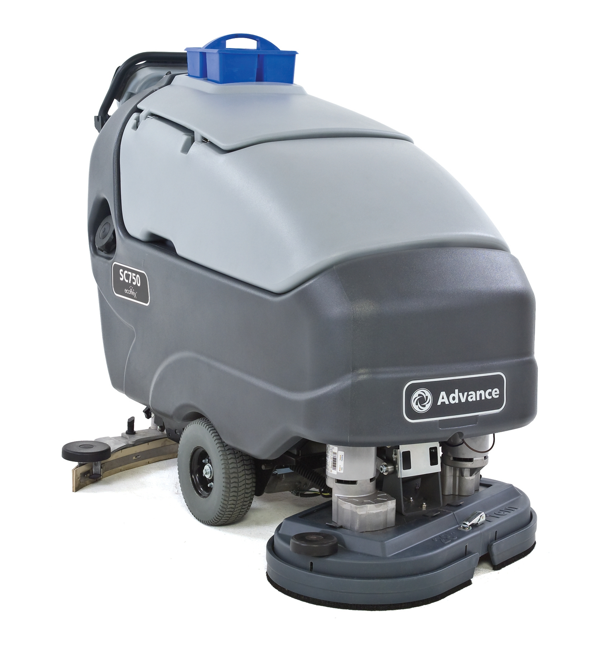 Product, Floor cleaning, Scrubber dryers, Walk-behind scrubber and dryers, Large walk-behind scrubber and dryers, Nilfisk, SC750 28R ECOFLEX W242 OBC
