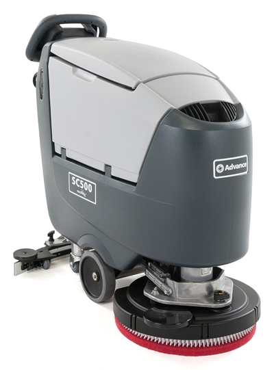 Product, Floor Cleaning, Scrubbers, Walk-behind Scrubbers, Medium, Nilfisk, SC500 20D ECOFLEX W130 OBC MGB