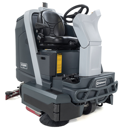 Product, Floor cleaning, Scrubber dryers, Stand-on and ride-on scrubber dryers, Nilfisk, SC6000 40D 310 AH OBC
