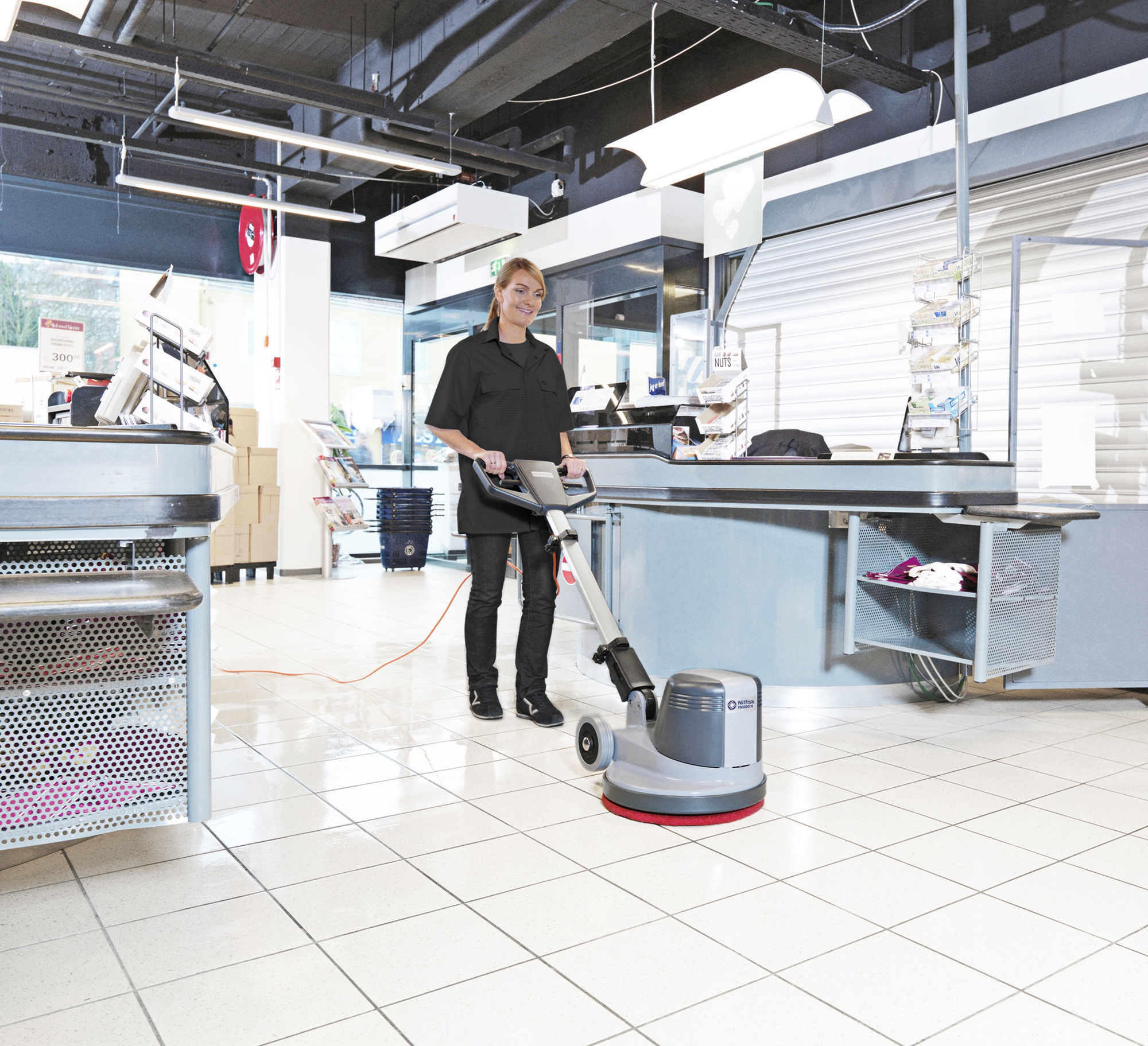 Product, Floor cleaning, Single discs, Low speed, Nilfisk, FM400 L UK