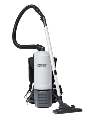 Product, Vacuum cleaners, Commercial vacuum cleaners, Dry vacuum cleaners, Nilfisk, GD5 BACK HEPA BASIC CH