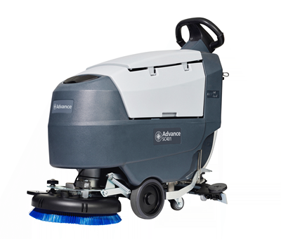Product, Floor Cleaning, Scrubbers, Walk-behind Scrubbers, Small, Nilfisk, SC401 17B W105 OBC PB