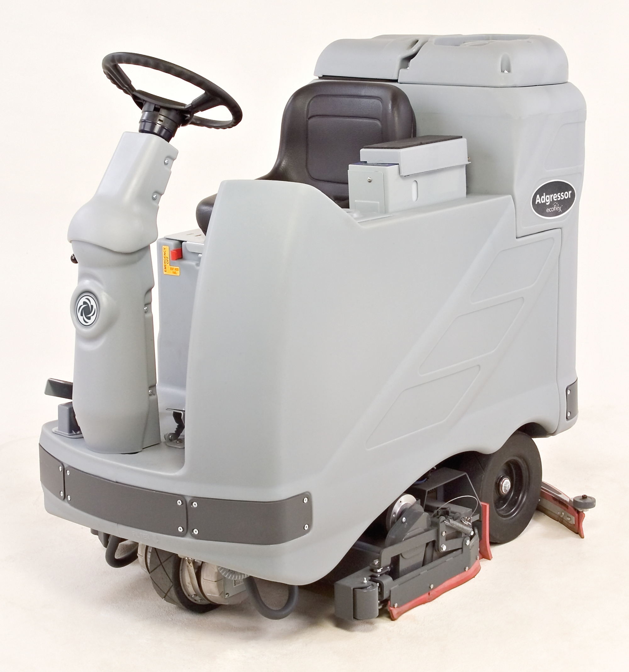 Product, Floor cleaning, Scrubber dryers, Stand-on and ride-on scrubber dryers, Nilfisk, ADGRESSOR 3220C 310AH OBC