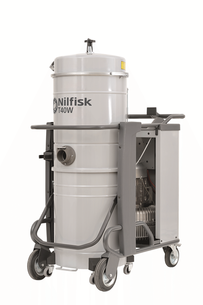 Product, Vacuum cleaners, Industrial vacuum cleaners, Three-phase wet & dry, Nilfisk, T40W L100