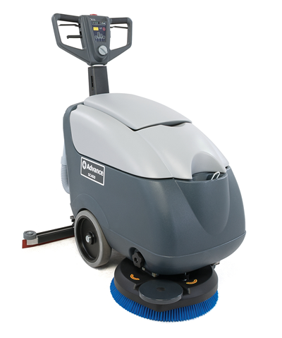 Product, Floor cleaning, Scrubber dryers, Walk-behind scrubber and dryers, Small walk-behind scrubber and dryers, Nilfisk, SC400 B PACKAGE W/BAT