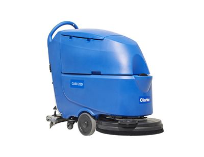 Product, Floor cleaning, Scrubber dryers, Walk-behind scrubber and dryers, Medium walk-behind scrubber and dryers, Nilfisk, CA60 20TD DISC TR 140 AGM OBC
