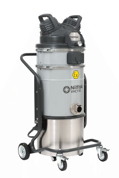 Product, Vacuum cleaners, Industrial vacuum cleaners, Compressed air, Nilfisk, VHC110 EXP