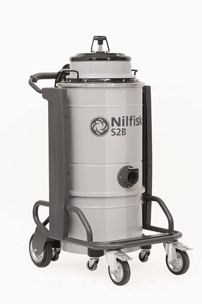 Product, Vacuum cleaners, Industrial vacuum cleaners, Single-phase wet & dry, Nilfisk, S2B L50 V110 UKP