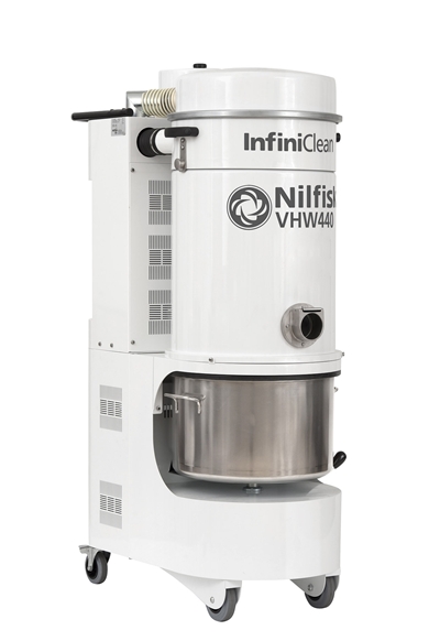 Product, Carpet Cleaning, Industrial vacuum cleaners, Food, pharma and OEM, Nilfisk, VHW440ICN2A