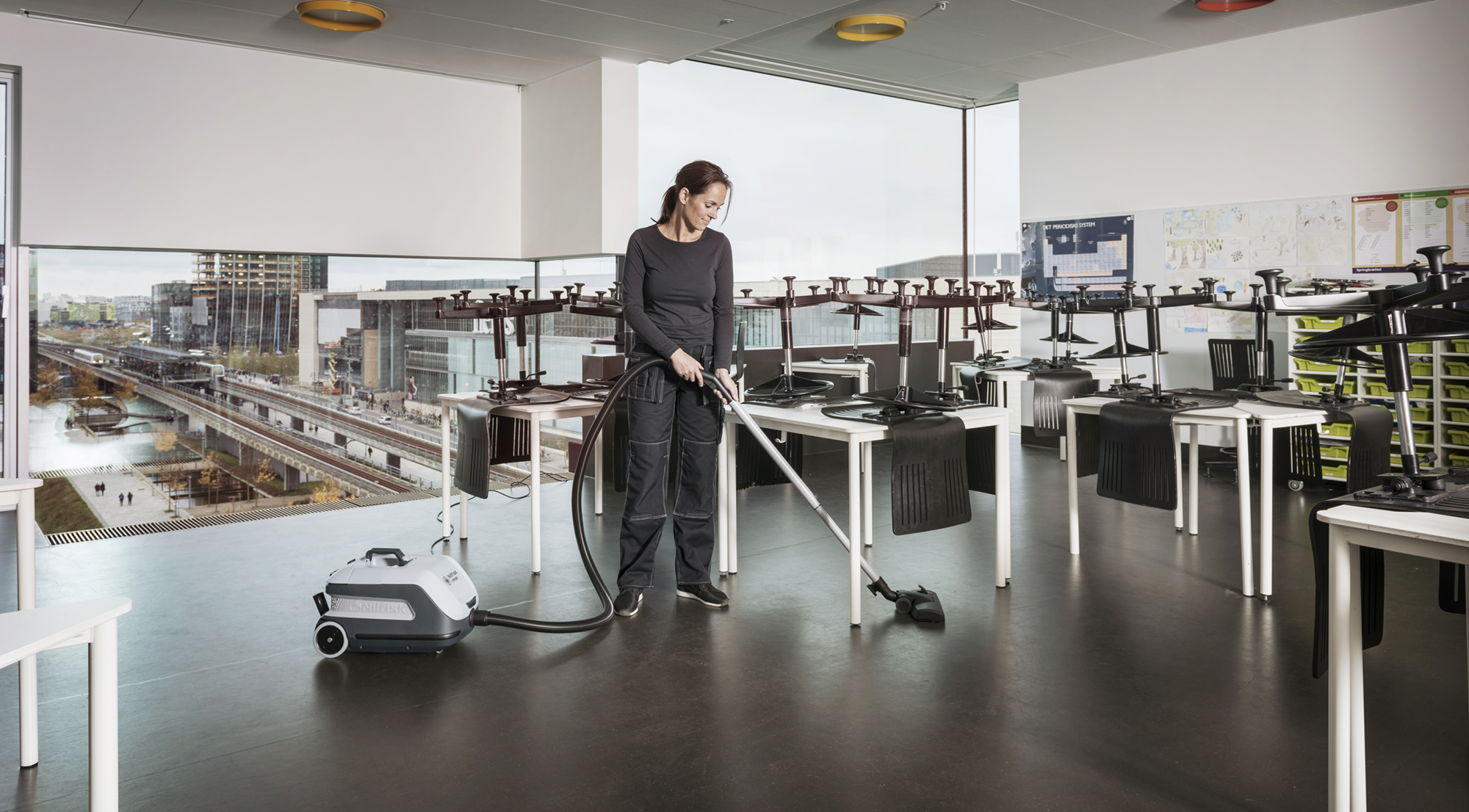 Product, Vacuum cleaners, Commercial vacuum cleaners, Dry vacuum cleaners, Nilfisk, VP600 STD3