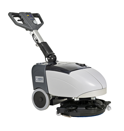 Product, Floor cleaning, Scrubber dryers, Walk-behind scrubber and dryers, Small walk-behind scrubber and dryers, Nilfisk, SCRUBBER SC351 FULL PKG