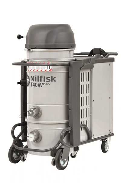 Product, Vacuum cleaners, Industrial vacuum cleaners, Hazardous dust, Three-phase, Nilfisk, T40WPLUS L50 MC