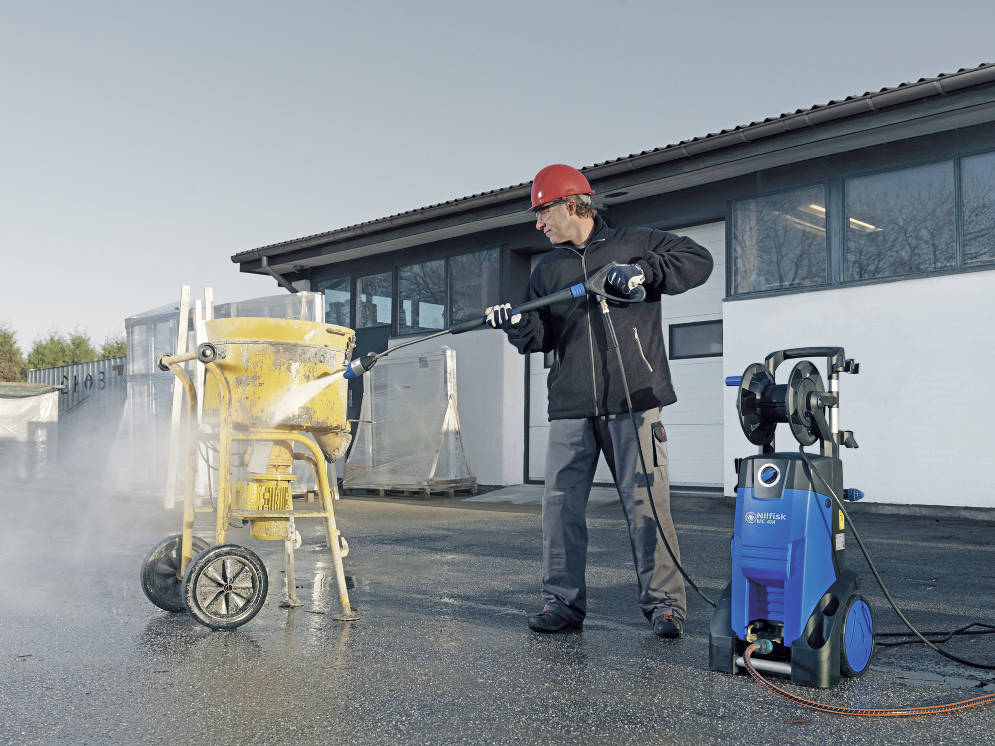 Product, Pressure washers, Mobile pressure washers, Mobile cold water pressure washers, Medium, Nilfisk, MC 4M-180/740 220/440/3/60 EXPT
