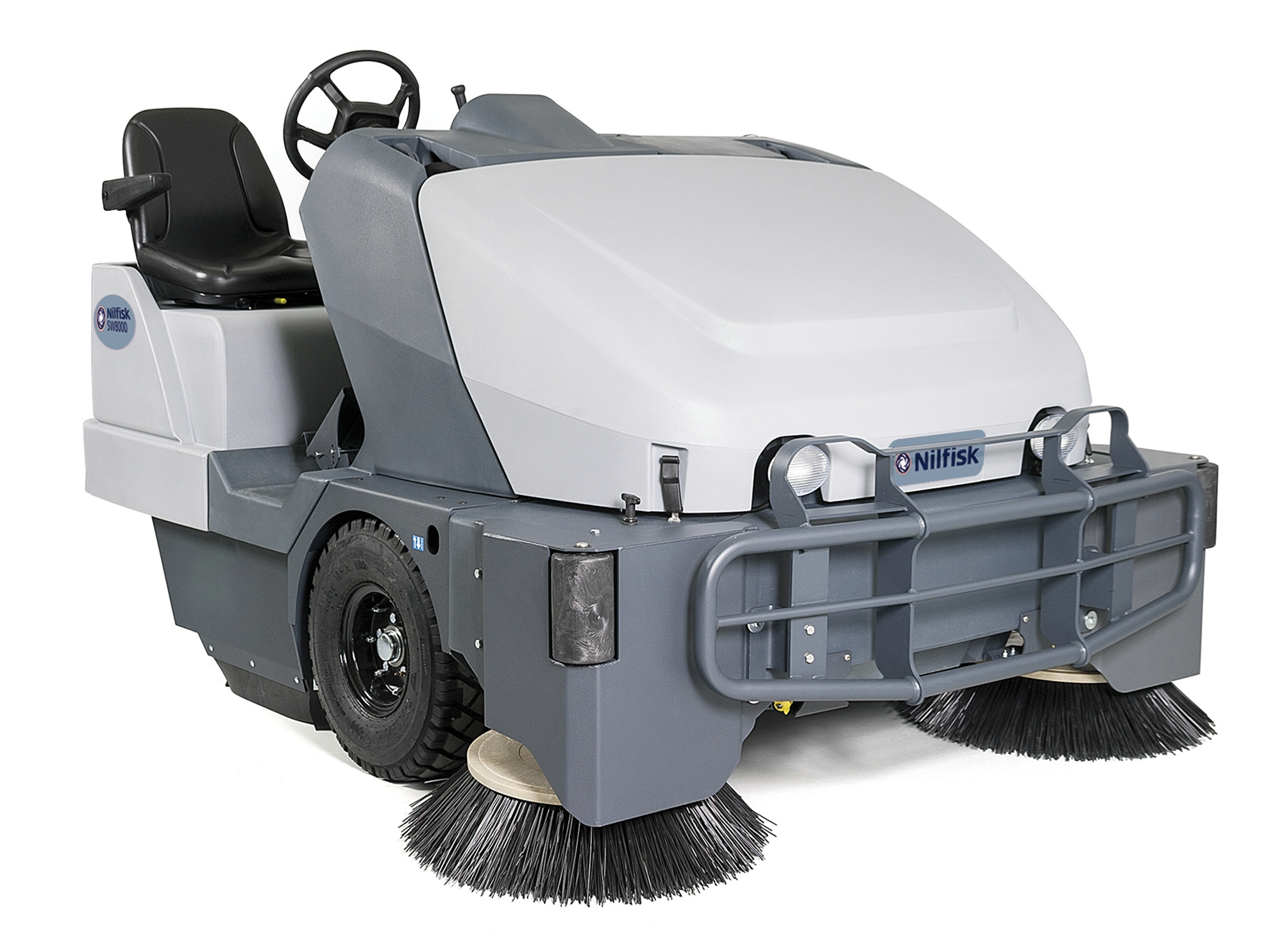 Product, Floor cleaning, Sweepers, Ride-on sweepers, Nilfisk, SW8000 65 G CAB
