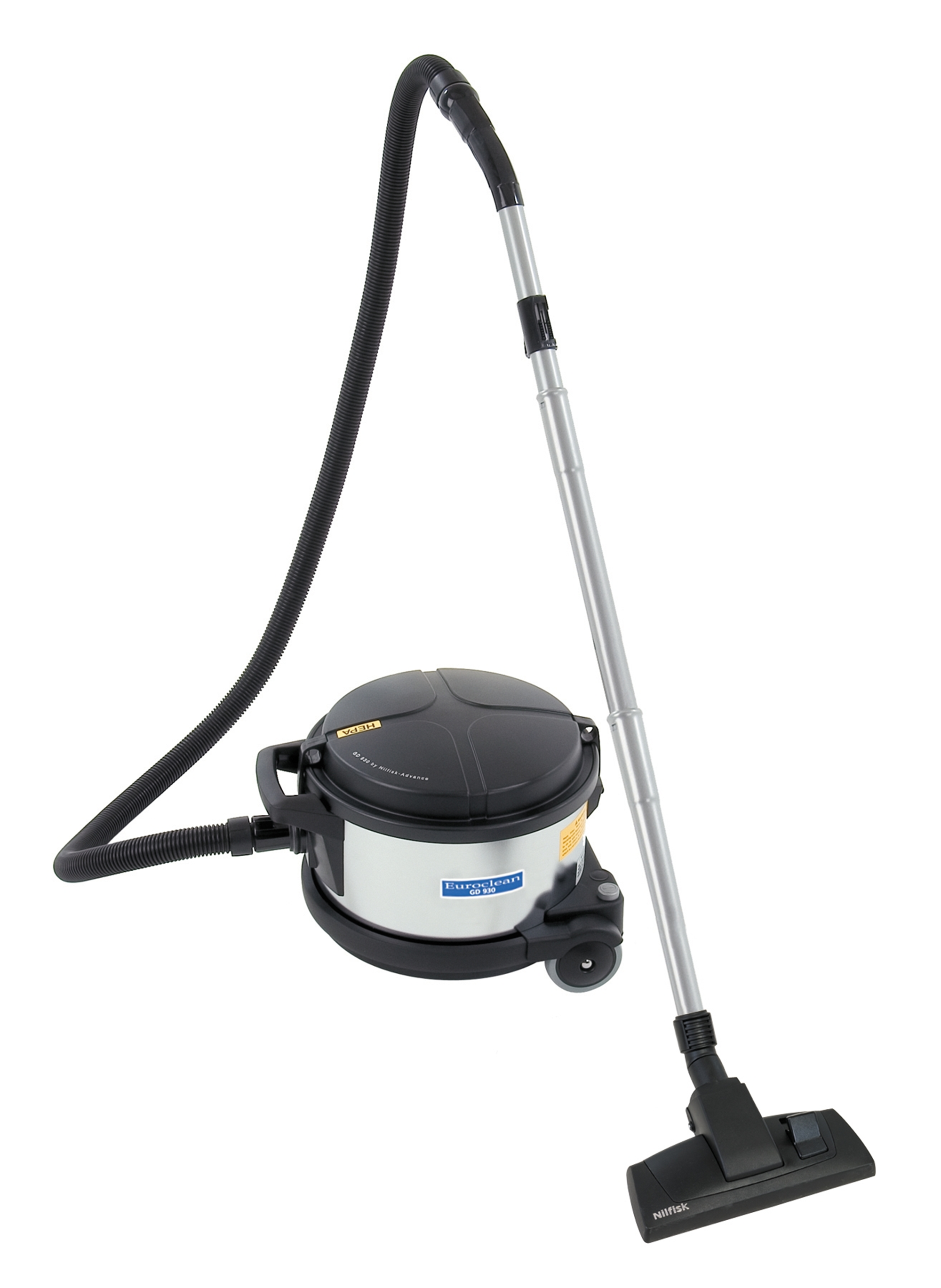 Product, Carpet Cleaning, Commercial Vacuum Cleaners, Canister Vacuum Cleaners, Nilfisk, GD930 HSP 120V 4 GAL HEPA VAC
