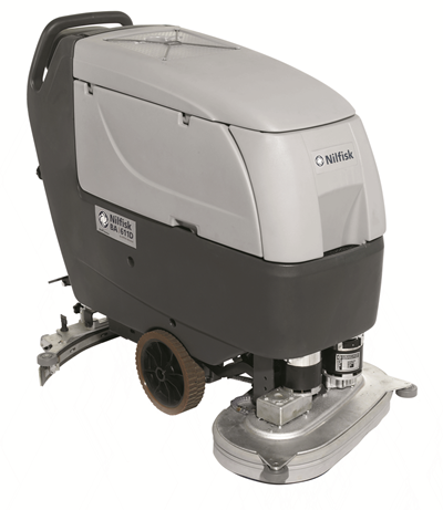 Product, Floor cleaning, Scrubber dryers, Walk-behind scrubber and dryers, Medium, Nilfisk, SCRUBBER BA 611 D