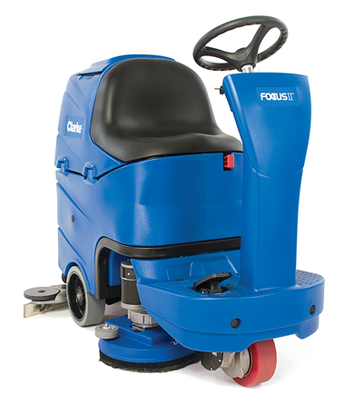Product, Floor Cleaning, Scrubbers, Rider Scrubbers, Nilfisk, FOCUS II MRIDER 26D A255 OBC